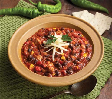 Black Bean & Turkey Chili