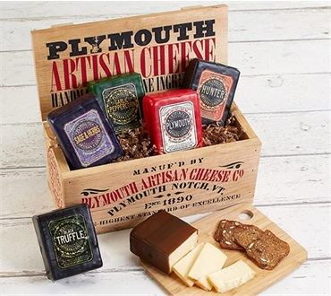 Plymouth Cheese Sampler
