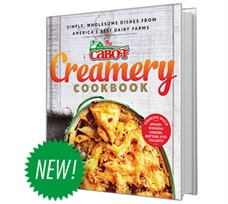 Cabot's New Cookbook is Here!