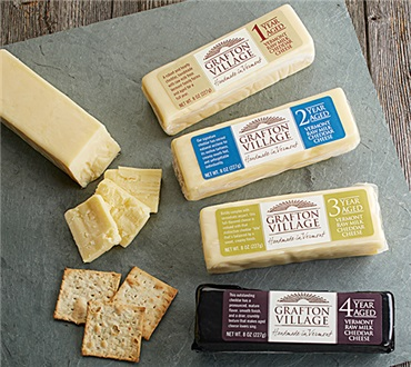Grafton Cheese Four Bar Sampler