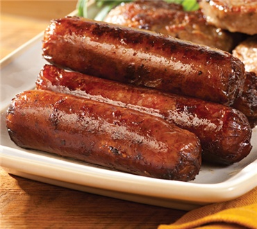 Big Link Smoked Maple Sausage